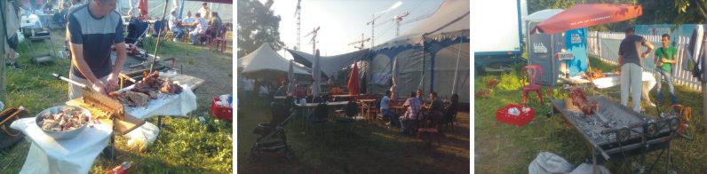 Event Catering im Zirkus Knie