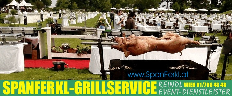 Spanferkl Catering - Grillservice - Partyservice